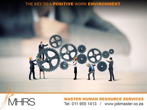 Maintaining positive workplace